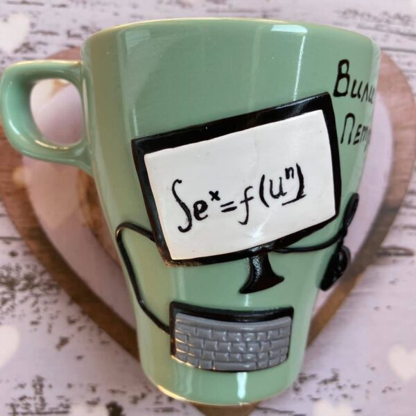 Чаша за топли напитки програмист