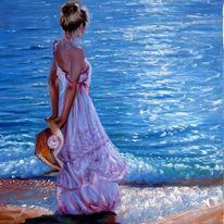 картина на брега на морето