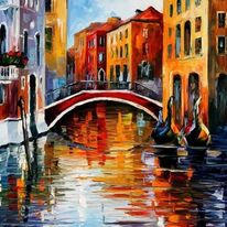 """Картина """"Тихата Венеция"""""""