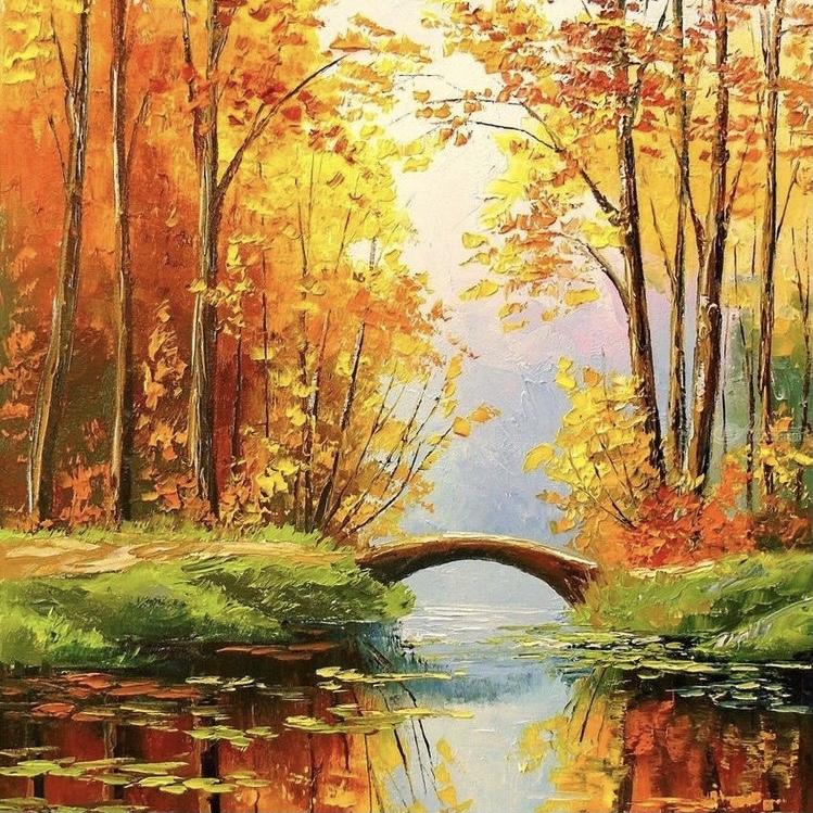 """Картина """"Есенна приказка"""""""